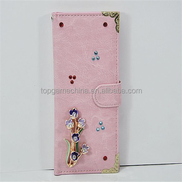 Universal leather cases for mobile phones iphone 5 5s 4 4s ,samsung s3,4 etc