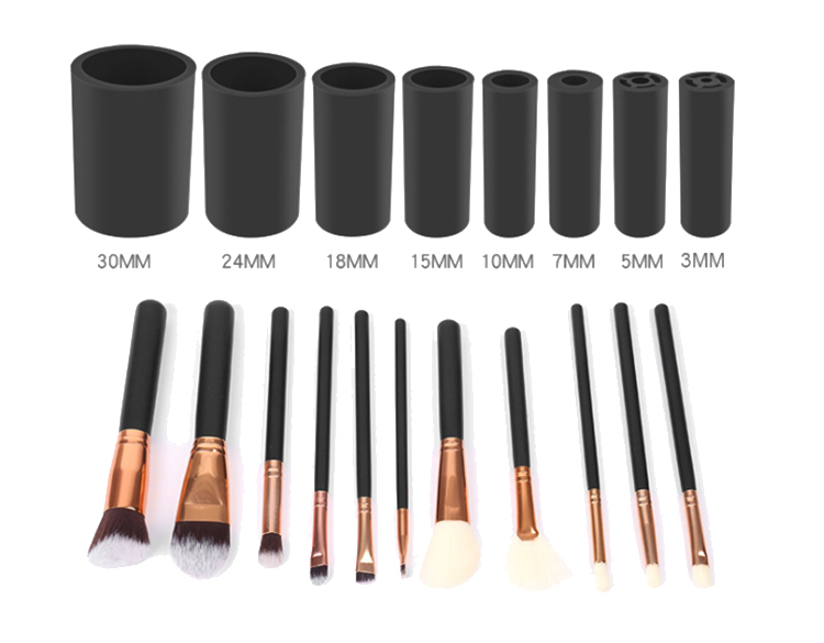 10 second dry electric makeup brush cleaner Suit for all size brush