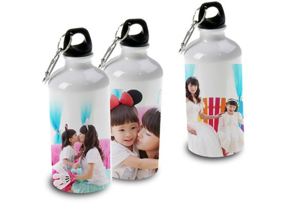 Sublimation Aluminum Picture Water Bottles On Sale