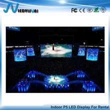 P5 Indoor Rental HD Video Custom Size Stage Advertising LED Display Screen For Concert