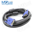 5m 1080P VGA Cable Male to Male 3+6 Pin VGA D-SUB able for HDTV Multimedia Display