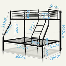 Diseño simple triple cama litera <span class=keywords><strong>de</strong></span> metal venta