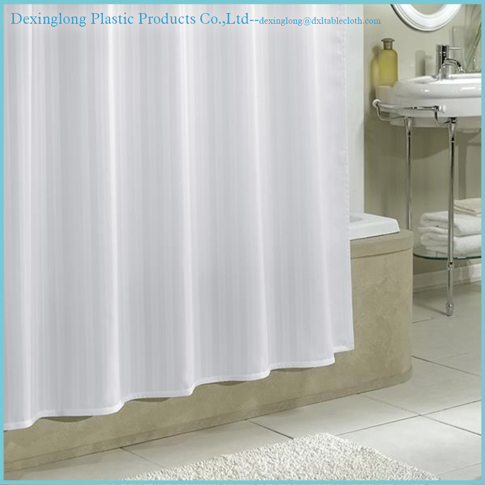wholesale custom cheap PVC shower curtain