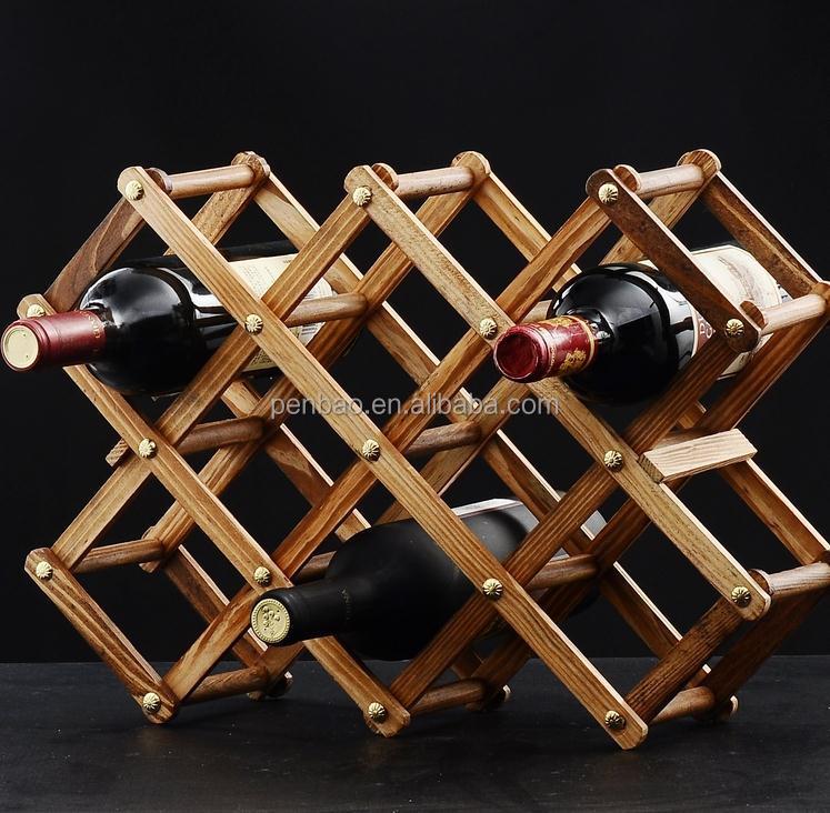 Oem Odm Novelty Antique Wooden Wine Rack Buy Antique