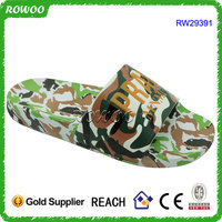 2016 New Eva Injection Men Indoor Anti-slip Slippers Military Eva Slippers