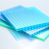 colorful pc sheet polycarbonate wall panel for swimming pool building materials