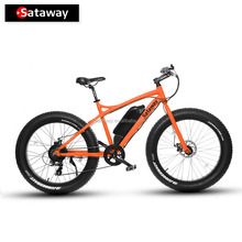 Sataway high quality mountain fat tire electric bike electric bicycle