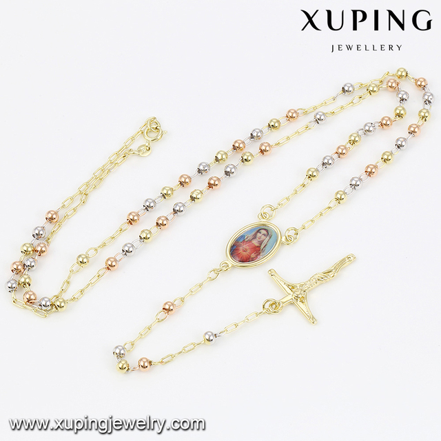 Top selling trendy style long chain alloy cross necklaces in many style