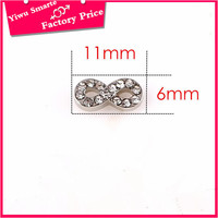 Engraved silver rhinestone baseball charm Letter 8 locket charms for charm bracelets making