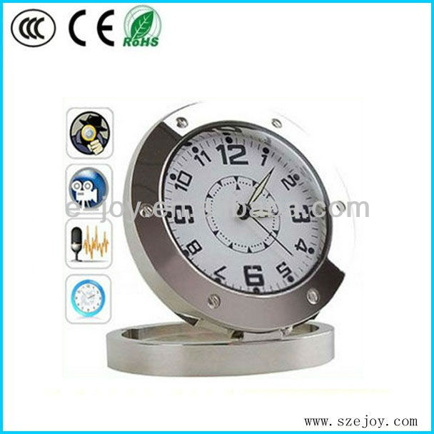Motion Detection clock hidden camcorder with web cam function&EJ-DVR 59A