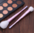 2017 New Trend Hot In Alibaba Canton Tower Handle 8pcs Makeup Cosmetic Brush Set With Gradient Color