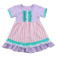 High Quality Wholesale Fashion cotton frocks Design Small Baby Girls Dress