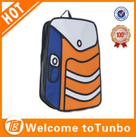 teens unique school bags 3d cartoon school bag