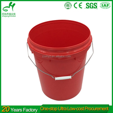 New HDPE 5 Gallon Plastic Paint Bucket Design With Good Quality