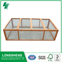 Sample wooden cage