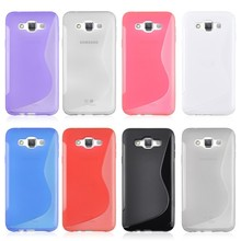 New S Line Soft TPU Gel Skin Cover Case For Samsung Galaxy E7 Mobile Accessory