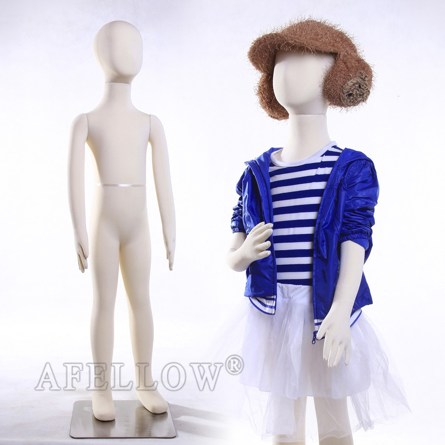 CH07T flexible foam child soft mannequins