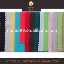Elastic 86%Nylon 14% micro spandex fabric plain dyed swimwear fabric