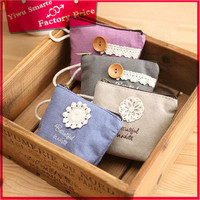 Online Shopping Excellect bag with zipper,Handmade 2016 new fashion cotton fabric zipper coin purse/zipper coin wallet