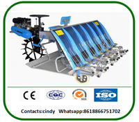 hot sale agriculture tool machine 6 row mechanical rice transplanter