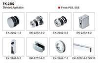 new style fashional stainless steel sliding door fitting