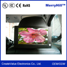 Customized Interactive 3G 7 Inch 9 Inch 10 Inch LCD Cab Car Taxi Advertising Screen