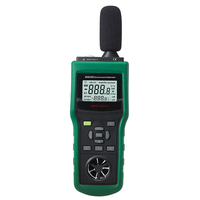 Mastech MS6300 temp/humidity/light/anemo/air flow/sound-Multifunction Environment Meter