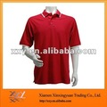 Hot Selling Comfortable Red Bowling Polo Shirts Dry-fit