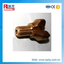 high quality steel material pdc coreless bit for rock drilling