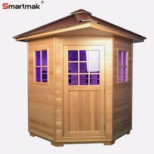 With Roof Outdoor infrared sauna rooms
