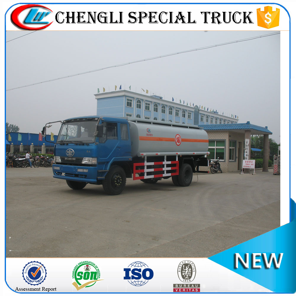 FAW 4x2 LHD RHD Refueler Tank Truck Oil Fuel Transport Truck
