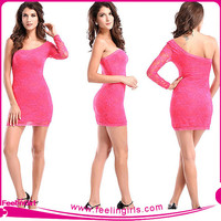 Wholesale Sexy Pink American Casual Dress