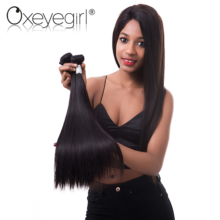Unprocessed virgin Peruvian/Brazilian/Indian remy hair weft