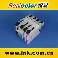 Rechargeable ink cartridge with chip for brother LC103/LC105/LC107