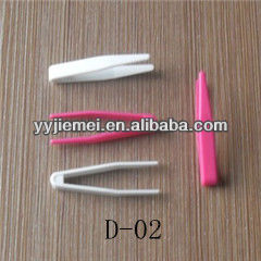 mini cheap plastic contact lens tweezers