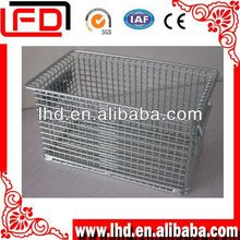 foldable wire basket of fruit storage