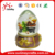 high quality custom made plastic or polyresin snow globes for Christmas ornaments