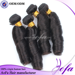 Aofa Hair Products Co., Ltd. Online Shopping Yes Indian Virgin Spring Curly Hair Wholesale