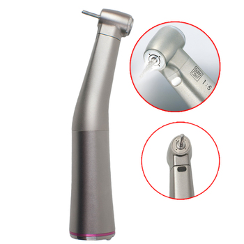 Dental low Speed 1:5 increasing Fiber Optic Contra Angle Handpiece Red Line Compatible NSK Ti MAX Z95L