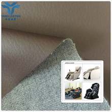 hydrolysis resistance pu faux leather roll for massage armchair