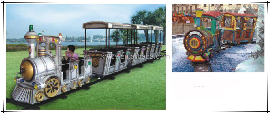 2016 Outdoor electric trackless train for sale