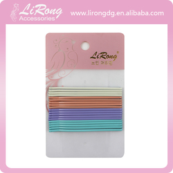 6.5cm Colorful Curved Hair Bobby Pin