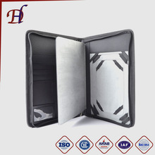 Wholesale Multifunctional Briefcase and Custom PU Leather Portfolio Holder for IPAD