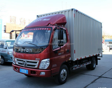 foton China brand 4 ton 3 ton 3.5 ton light mini truck/4x2 6 wheel cargo truck for sale