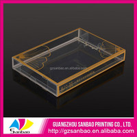 High Quality Small Professional Printing Oem Plastic Storage Box For Clothes With Your Logo