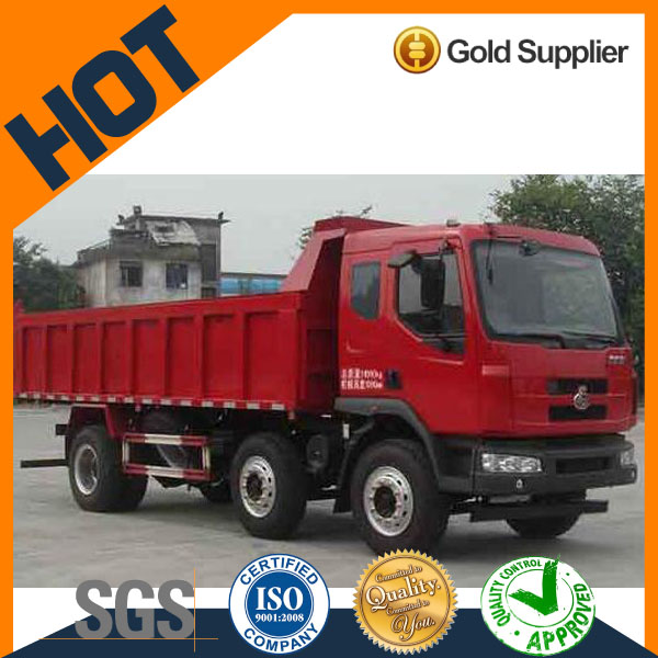 economical chenglong 10 wheel 20 cubic mater capacity dump truck for sale
