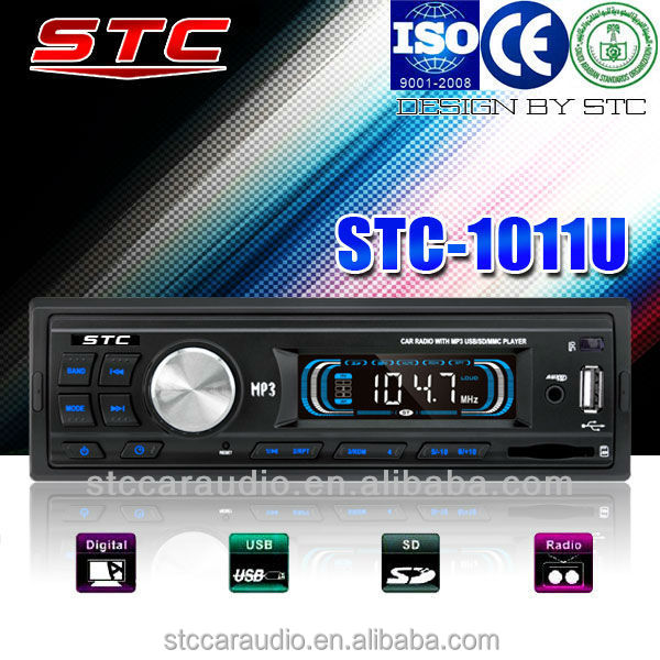 cheap car radio with sim card stc-1011u