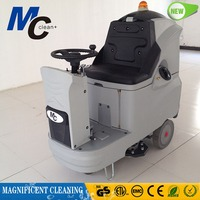 RD660B mini ride on automatic floor cleaning machine for warehouse or the mall