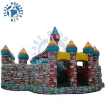 Hot Sale Inflatable Funcity for Children Games(PLG60-037)