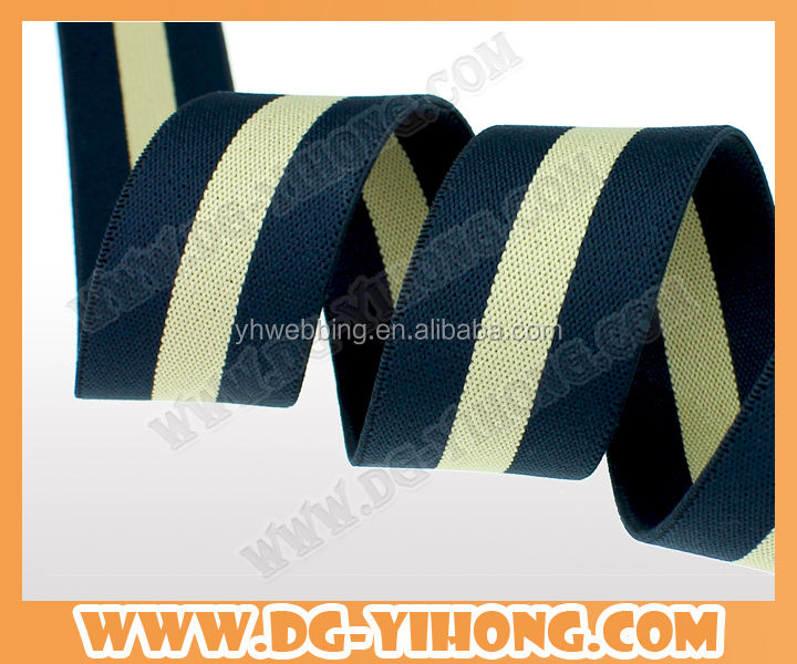 2017 new design Customized jacquard elastic band for underwear